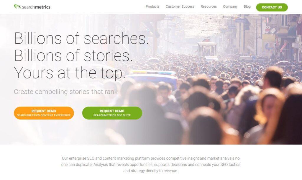 Searchmetrics tagline
