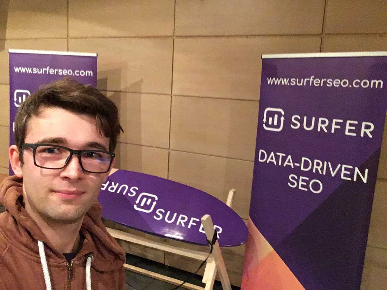 Michal Suski from SurferSEO