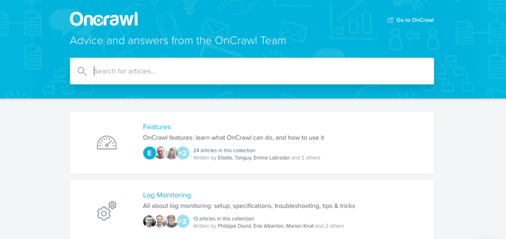 OnCrawl: Advice and answers from the OnCrawl Team