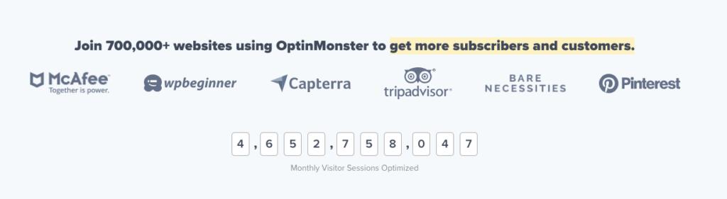 OptinMonster customers
