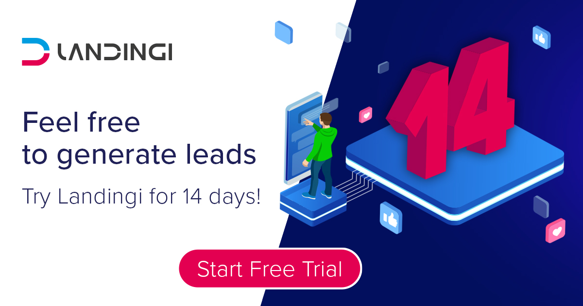 Try Landingi for 14 days