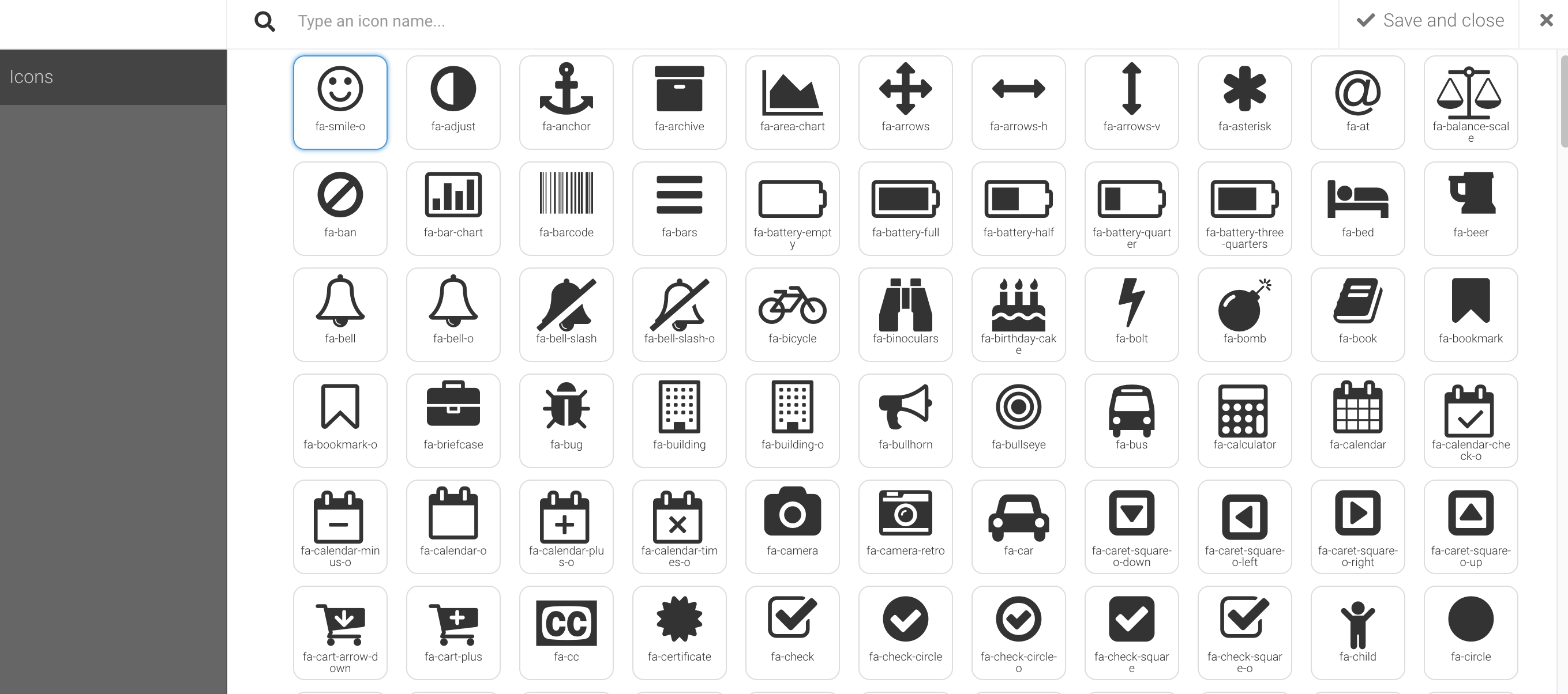 Image and Icon Libraries
