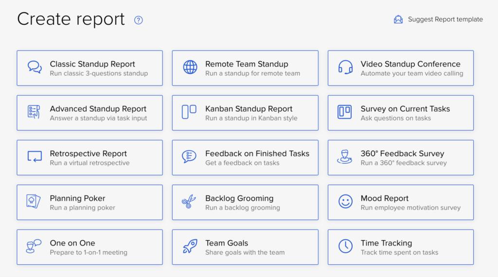 Create report