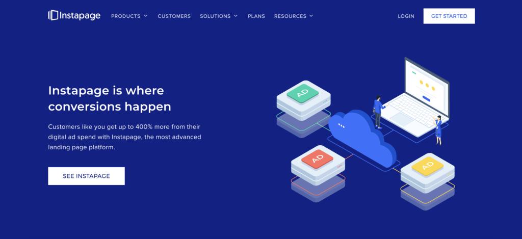 Insta page website