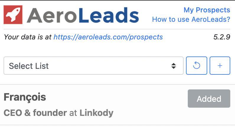 Extension LinkedIn Email Find