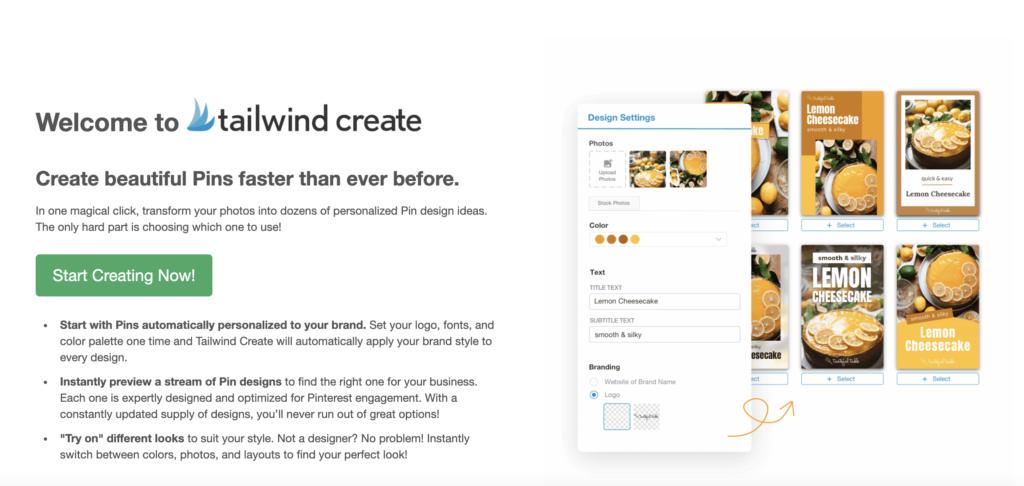 Tailwind app Create Editor
