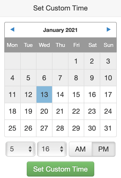 Tailwind Smart app Scheduler